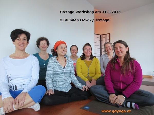 GoYoga Workshop: 3 h Flow // TriYoga