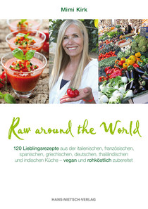 Raw around the World / Mimi Kirk / Hans-Nietsch-Verlag / GoYoga Rezension